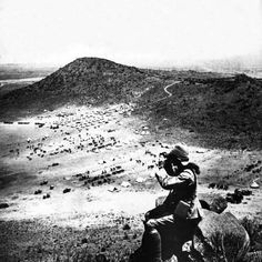 Photographic Print: Looking into the Orange Free State over Brigade Camp and Signal Hill : British Soldier, British Army, Crimean War, Cartoon Photo, Free State, British Colonial, My Heritage, East London, Roman Empire
