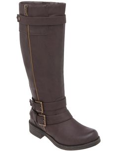68bf0e1a25a Take equestrian style for a ride in fashionable boots detailed with  buckles
