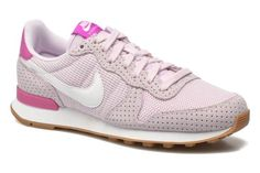 Baskets Wmns Internationalist Nike vue 3/4