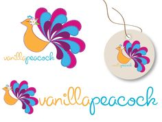 Create the next logo for Vanilla Peacock Girls Clothing Boutique by AmandaJo_85