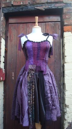 Upcycled Dress  - looove this!!!