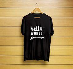 Hello World Cute T-Shirt #helloshirt #hellot-shirt #helloworldshirt #helloworldt-shirt #helloworldtee #worldshirt #worldt-shirt #t-shirt #shirt #customt-shirt #customshirt #menst-shirt #mensshirt #mensclothing #womenst-shirt #womensshirt #womensclothing #