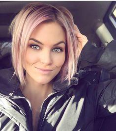 Krissa Fowles pink hair