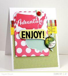 Layout to Card Adventure Joy