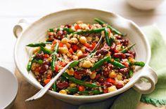 Bean & Bulgur Salad