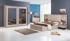 inegöl Paris Yatak Odası Ceviz inegöl yatak odası modelleri yatak odası yatak odaları