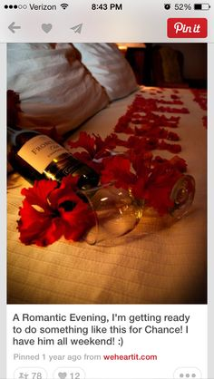 Romantic Anniversary Ideas Future Wedding Ideas Pinterest