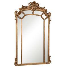 Shop for Somette Antique Goldtone Framed Mirror. Get free shipping at…