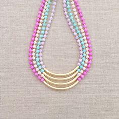 El collar de Kacie por LovesAffect en Etsy