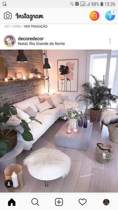 The Best 2019 Interior Design Trends - DIY Decoration Ideas Living Room Decor Cozy, Home Living Room, Living Room Designs, Home Bedroom, Bedroom Decor, Pinterest Home, Living Room Inspiration, Cozy House, Home Interior Design