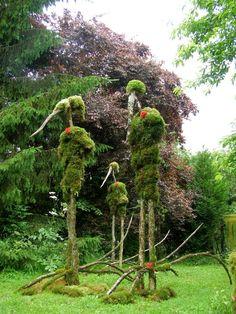 Parcs, Environmental Art, Installation Art, Les Oeuvres, Mousse, Art Nature, Sculptures, Outdoor Structures, Gardens