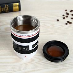 SLR Camera Lens Mug