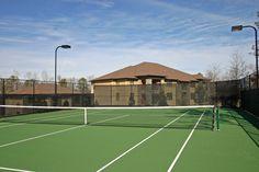 Play #Tennis like at Pro at Grove Park #Apartments in Columbus, Georgia.
