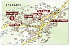 capri map Googleda Ara getting to capri Pinterest Capri