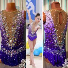 Rhythmic Gymnastics Leotards, Ballet, Roller Skating, Dance Costumes, Costume Design, Color Combos, Swarovski Crystals, Sequin Skirt, Gymnasts