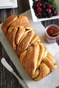 Braided Cinnamon Bread | Sprinkle Bakes