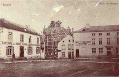 """La """"Taverne du Nord"""" sur la place du Chapître..."""
