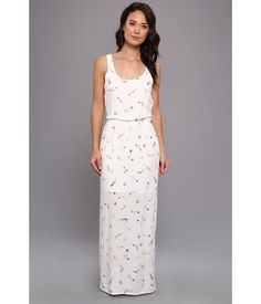 This chic, charming maxi dress has arrived just in time for spring!. Delicate fabric lends itself ...