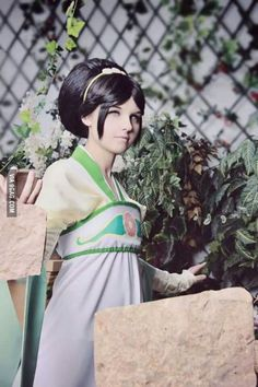 Toph Cosplay - Avatar: The Last Airbender