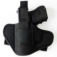 If you need to be able to put on and take off a holster, without having to remove your belt, the IWB Quick Release Loops holster is more stable, secure and comfortable than a paddle holster. The flat, low profile created by this design effectively conceals your gun. It contours to the shape of your hip for comfort.