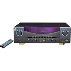 Pyle Pro 5.1-channel 35-watt Am And Fm Receiver With Usb Port & Sd Card Port