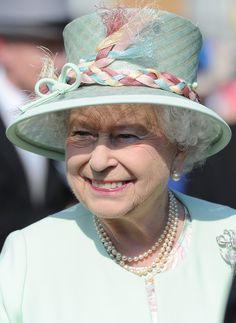 Queen Elizabeth II - Queen Elizabeth II Hosts a Garden Party