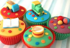 The Cupcake Gallery Blog: Little Boy's cupcakes