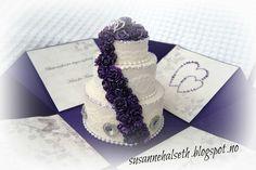 susannehalseth.blogspot.no: Mal på eksplosjonsboks med kake i midten.