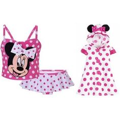 Disney Store Minnie Mouse 2-Piece Pink Polka « Clothing Impulse