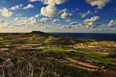 Wied l-Ghasri, Gozo, Malta