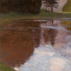 Тихий пруд близ Голлинга, Зальцбург. Густав Климт Музей Леопольда, Вена (Leopold Museum, Wien). 1899