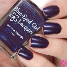 Blue-Eyed Girl Lacquer: Basking In The Storm (Innocence In The Moment Collection) #blueeyedgirllacquer #begl #beglove #swatch #indiepolish