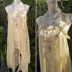 Hey, I found this really awesome Etsy listing at https://www.etsy.com/listing/528744626/bohemian-dress-in-vintage-french-lace