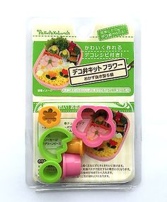 Bento Lunch  Box Accessory  Cookie Cutters Flowers Tulips Plum Blossom