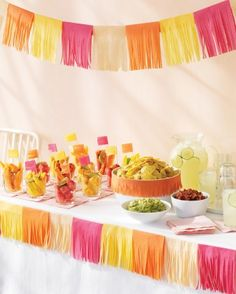 """See the """"Tissue-Paper Decorations"""" in our Cinco de Mayo Crafts and Decorations gallery"""