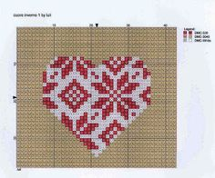 Cross Stitch Christmas Ornament 1