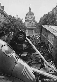 Mai 68, Paris. Marc Riboud