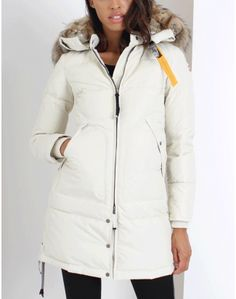 Parajumpers Long Bear Cream Coat Summer Is Coming, Belstaff, Barbour, Coats For Women, Looks Great, Winter Jackets, Clothes, Fashion, Girls Coats