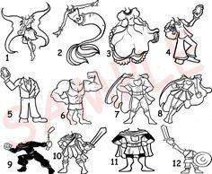 caricature_templates_1_092112_by_raccoon_eyes-d5fi8a8.jpg (900×742)