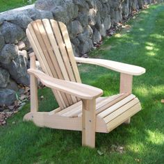 selbst gebauter adirondack chair garten pinterest. Black Bedroom Furniture Sets. Home Design Ideas
