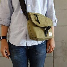 New Olive Basic Messenger Canvas Bag / everyday bag / travel /weekend Backpack Bags, Sling Backpack, Canvas Messenger Bag, Patchwork Bags, Everyday Bag, Cotton Bag, Travel Bags, Teen Fashion, Satchel