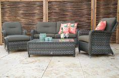 Super Gave loungeset Eldorado van het bekende merk 4-Seasons Outdoor, maar liefst 10 jaar Garantie