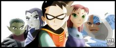 teen titans was the best. HATE they canceled it!!