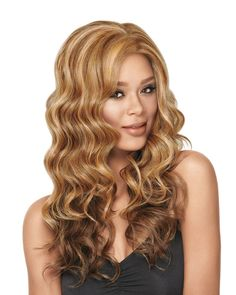 Goddess Waves Lace Front Synthetic Wig by Lux Hair NOW