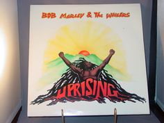 """1980 Island Records release of Bob Marley and The Wailers """"Uprising,"""" ILPS 9596. I play every record before I list it for sale. This record sounds very good; I did not hear any pops or ticks."""
