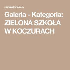 Galeria - Kategoria: ZIELONA  SZKOŁA W KOCZURACH