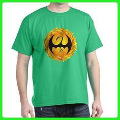 CafePress - Marvel Iron Fist Logo - 100% Cotton T-Shirt - Superheroes shirts (*Amazon Partner-Link)