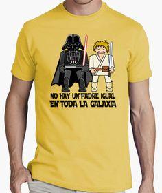 camiseta no hay padre igual en toda la galaxia