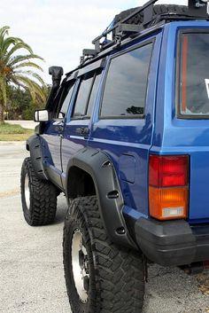 Back - 1994 Jeep Cherokee XJ 4X4