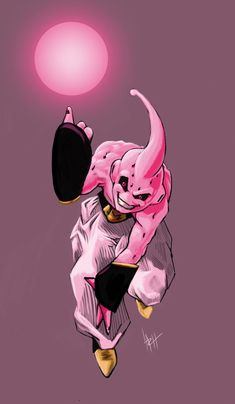 Majin Buu. Amazing! Really captures how sadistic this character is.